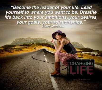 inspirational picture quotes become the leader of your life