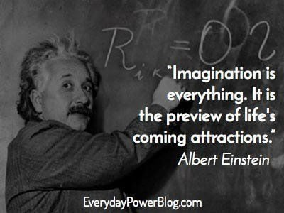 Albert Einstein Quotes On Love  Imagination   War   Everyday Power Inspirational Albert Einstein Quotes