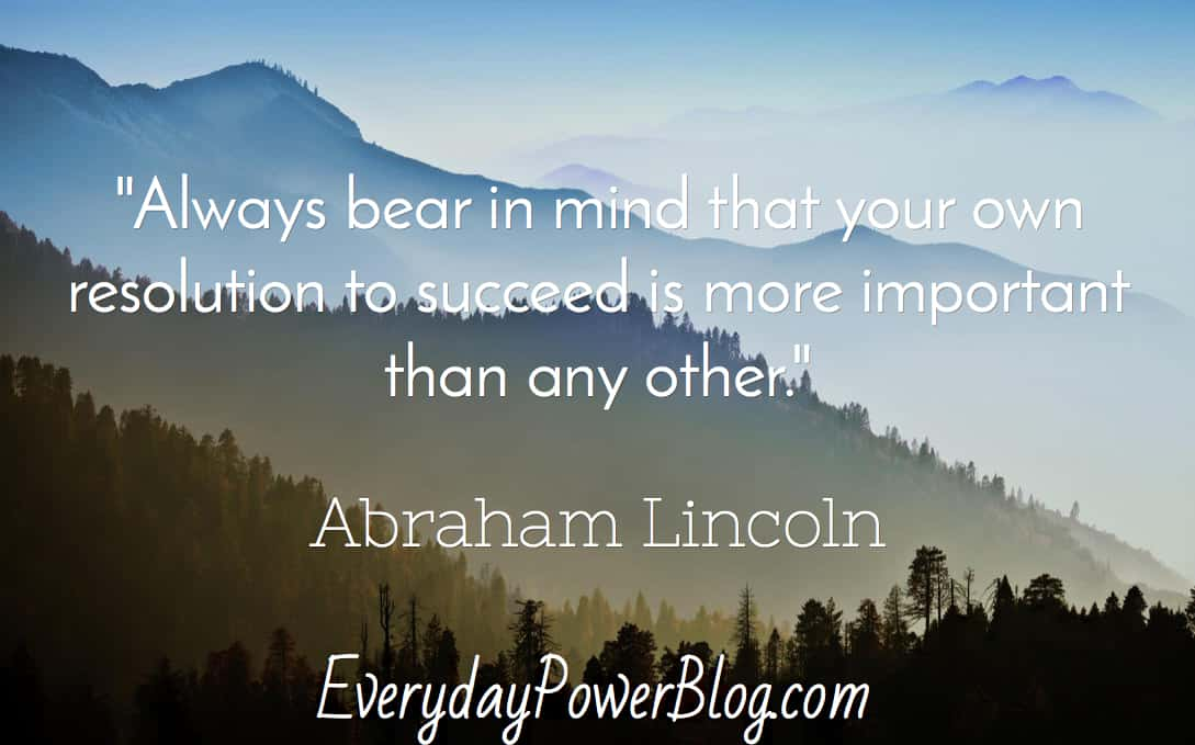 motivational Abraham Lincoln Quotes on life