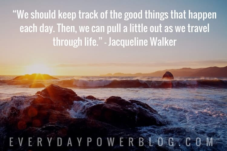 Keep Track of Good Things That Happen