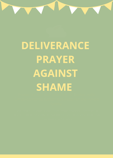 50 Deliverance Prayer Against Shame And Disgrace | PRAYER POINTS