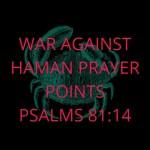 Oorlog teen Haman-gebedspunte