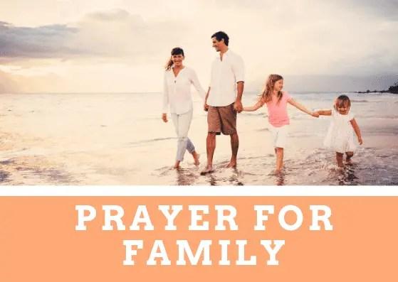 Bønn for familien