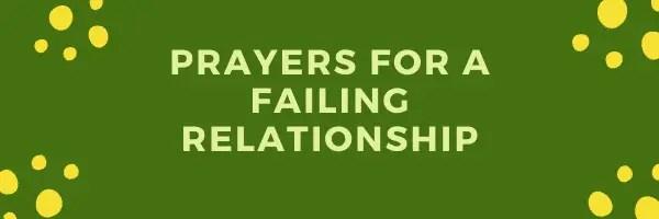 Rugăciune pentru a salva o relație eșuată