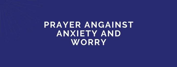 Молитви против вознемиреност и грижа