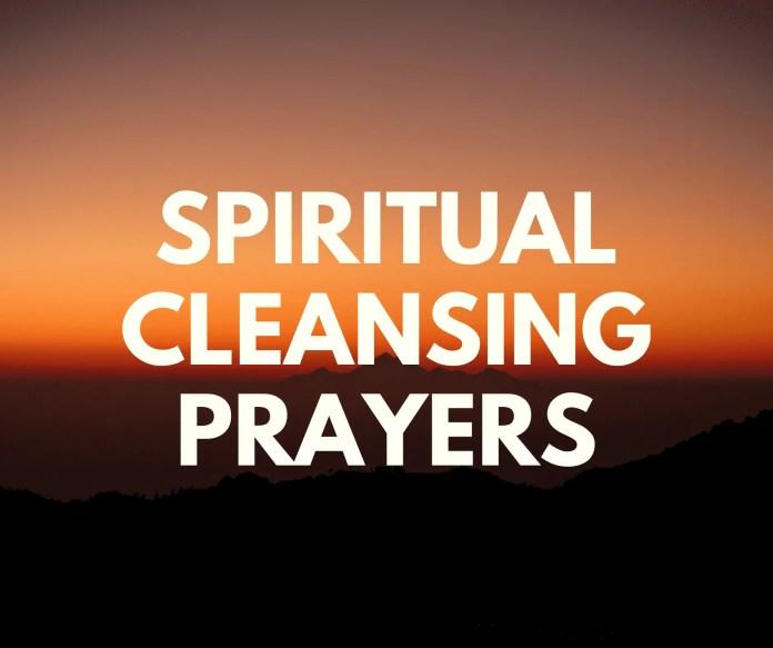 Dvasinės valomosios maldos