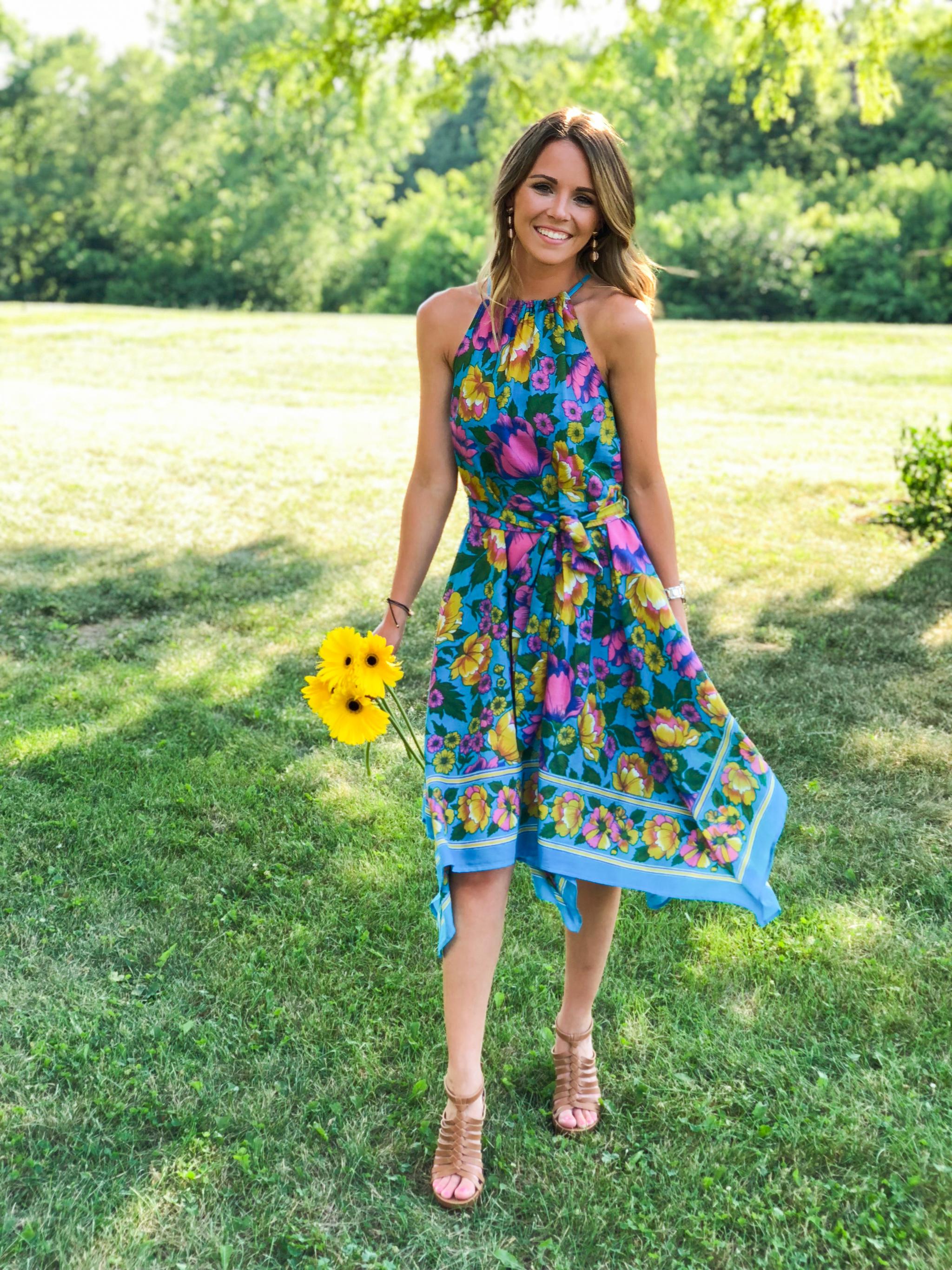 Floral Birthday Dress-7