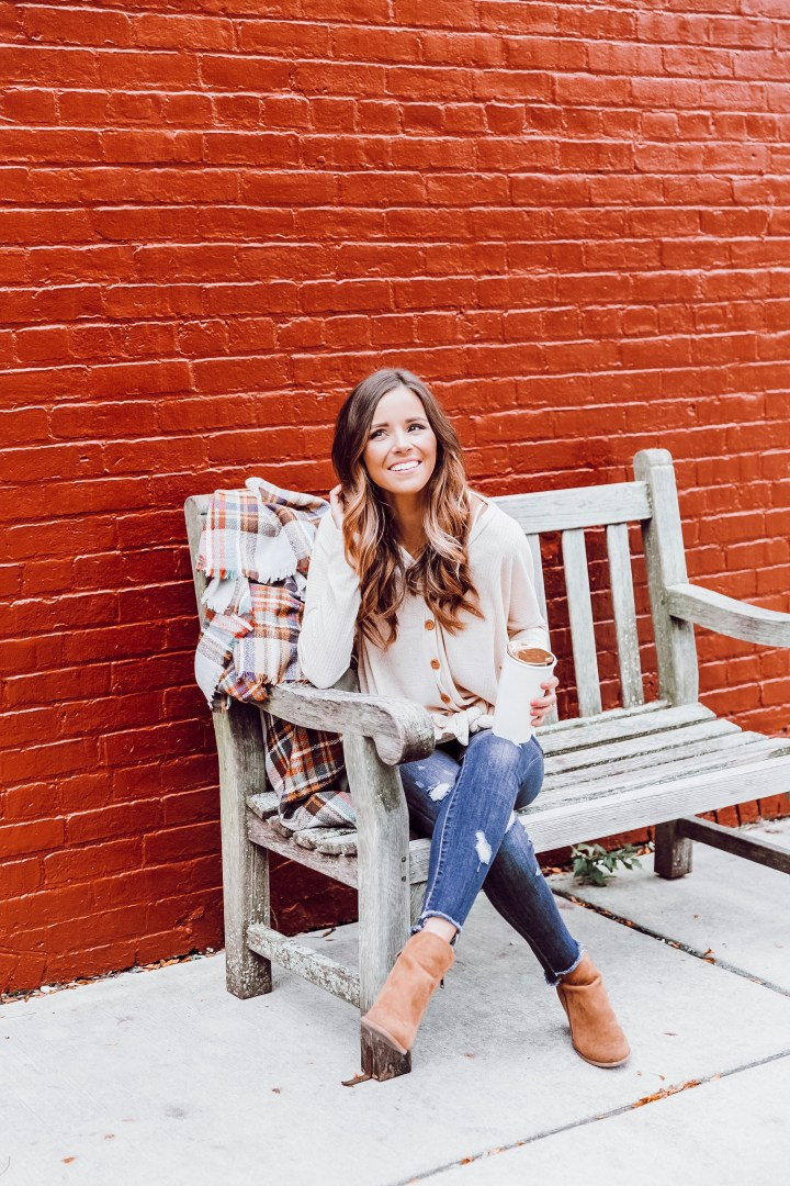 The Raleigh Waffle Knit Ft. Blooms & Linen Boutique