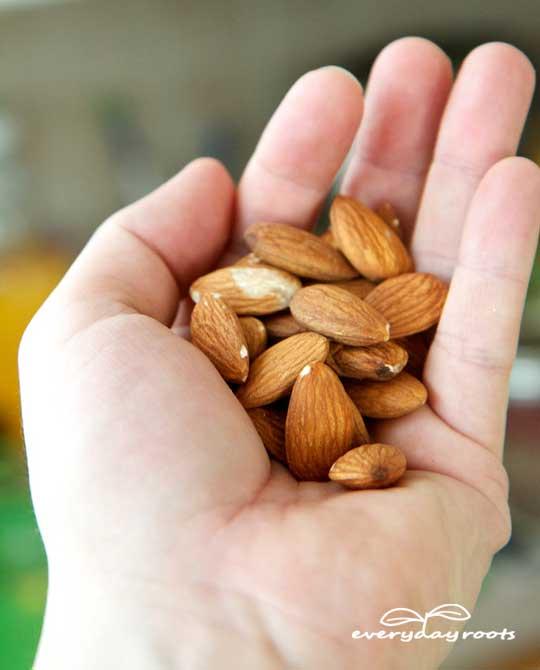 eat almonds