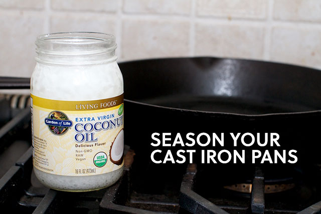 season your pans