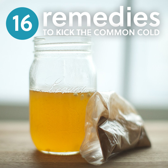 Use these natural remedies to get rid of your cold fast without having to use nasty cold medicines and thick store-bought syrups.