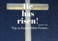 Top 25 Easter Bible Verses