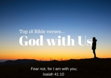 Top18 Bible verses-God with Us