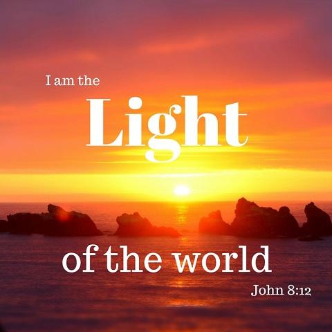 Top 24 Bible verses-light of the world