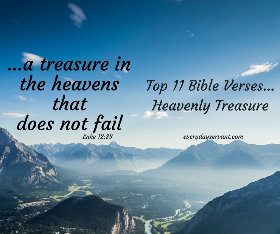 Top 11 Bible Verses-Heavenly Treasure