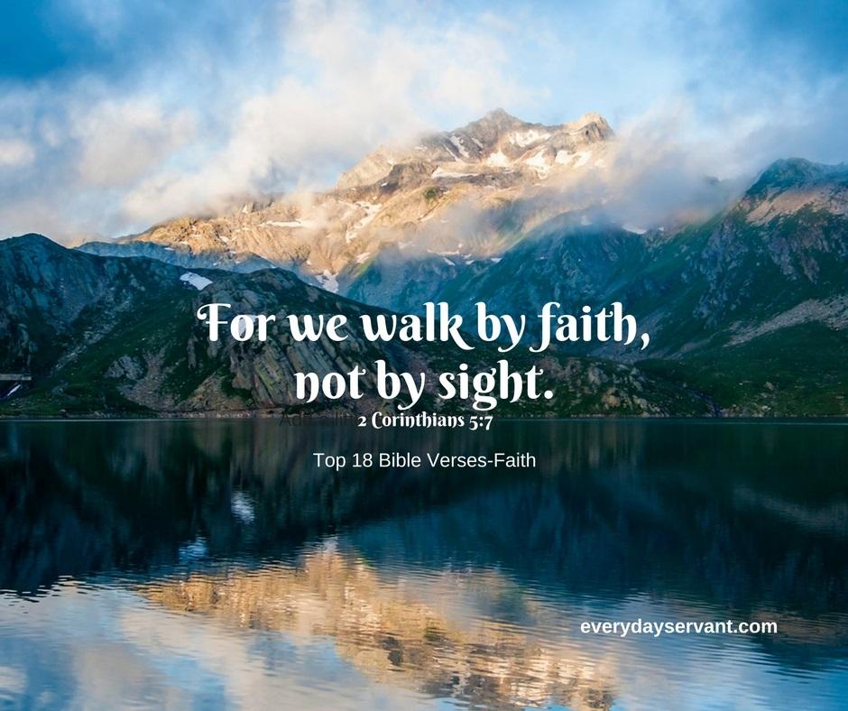 Top 18 Bible Verses-Faith