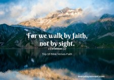 Top 18 Bible Verses-Faith