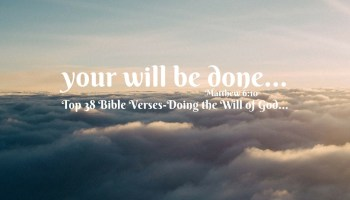 Top 9 Bible Verses-God's Will For My Life - Everyday Servant