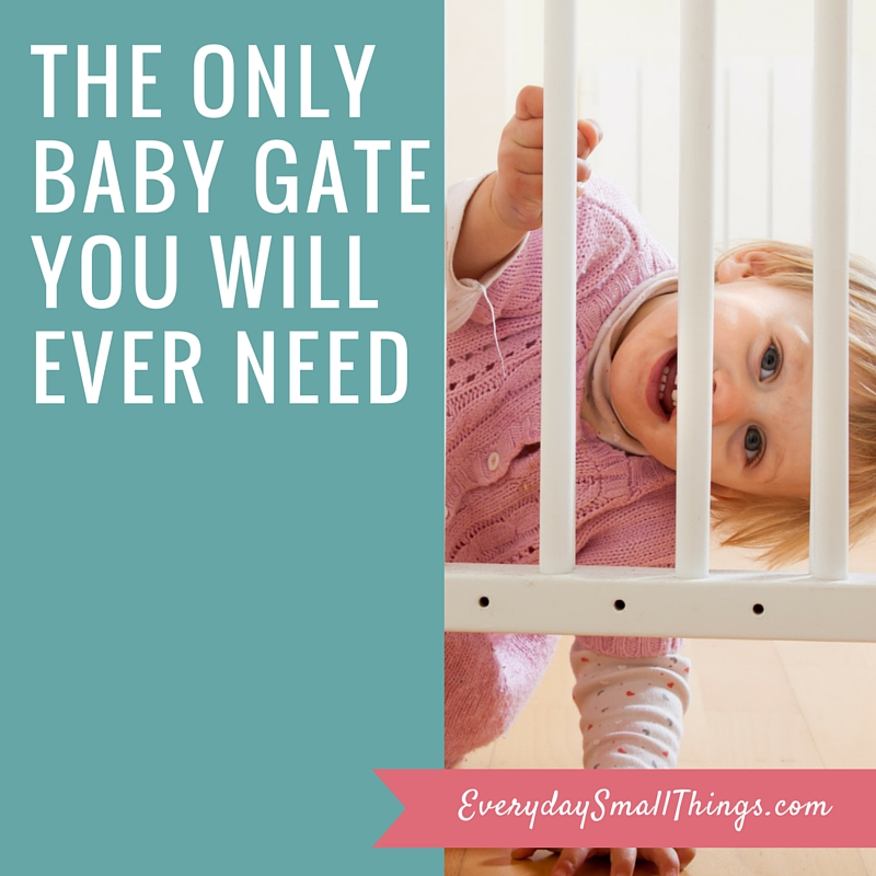 The Only Baby Gate You Will Ever Need