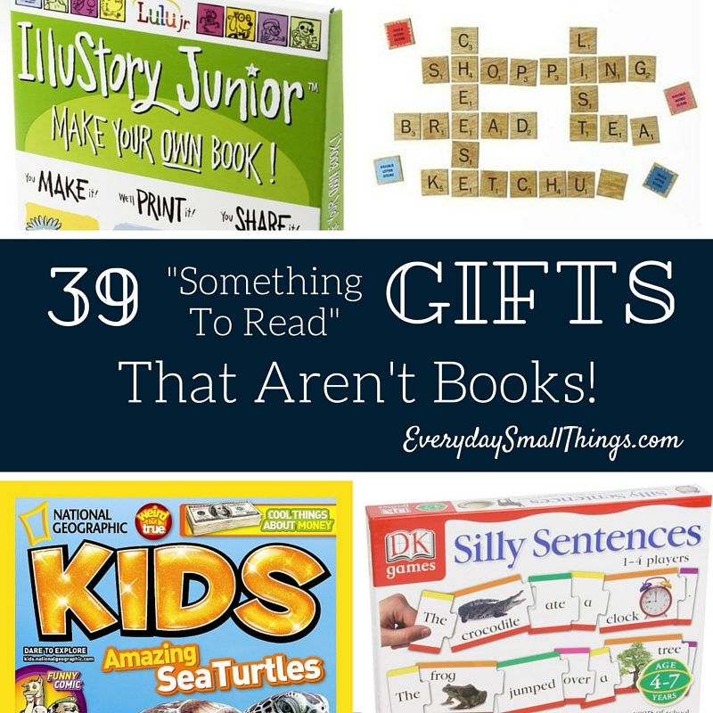 "39 ""Something To Read"" Gift Ideas"