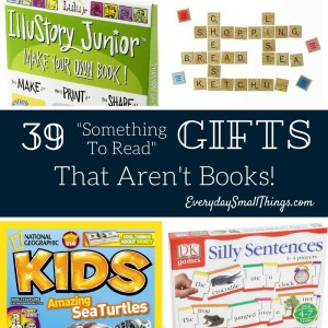 39 Reading Gifts That Aren't Books | EverydaySmallThings.com