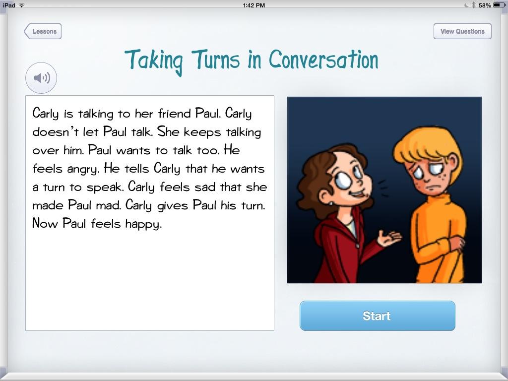 Taking Turns In Conversation