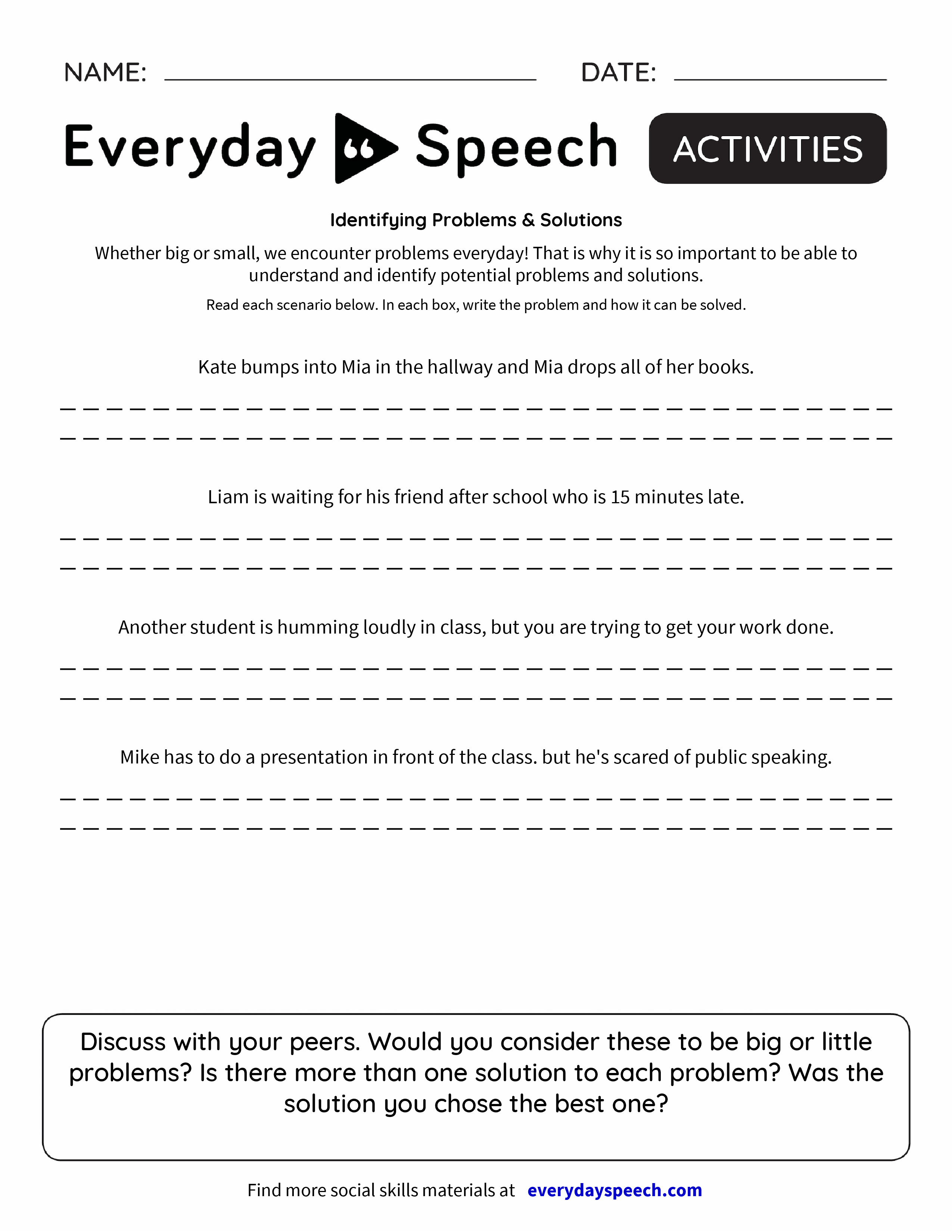 worksheet Problem Solution Worksheets 2nd Grade solution worksheet free worksheets library download and print ident y g problems luti s everyd speech speech
