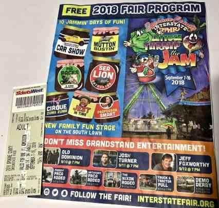 image of 2018 Spokane Interstate Fair Program