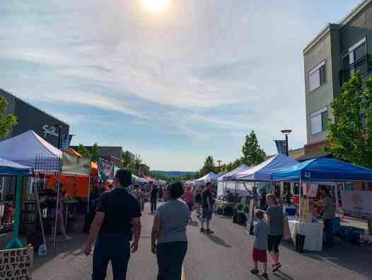 kendall yards night market