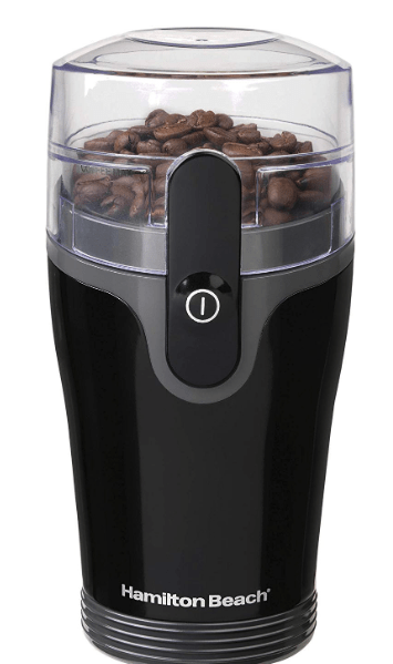 Hamilton Beach Fresh Grind 4.5oz Electric Coffee Grinder for Beans, Spices and More
