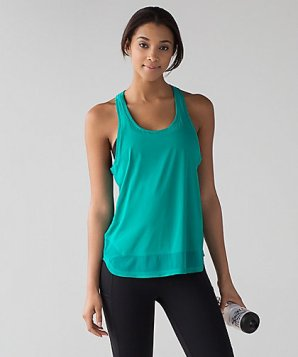 54ec0e1710 I'll show you two stock photos from Lululemon.com in a bright green color  so you can see the shape and details.