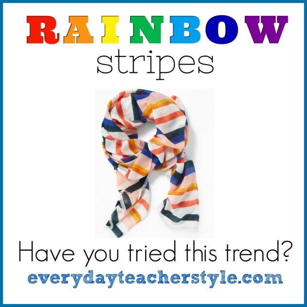 Rainbow Stripes Trend
