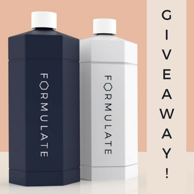 formulate launch giveaway