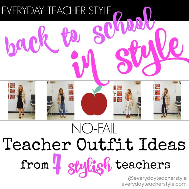 teacher outfit ideas for back to school