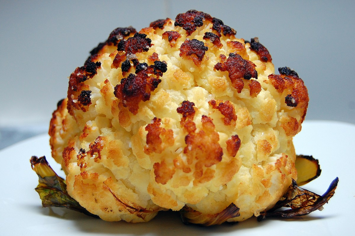 A Whole Baked, Melt-in-Your-Mouth, Cauliflower Recipe