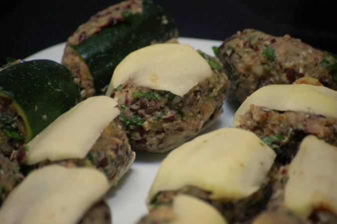 Vegan Mafrum - Stuffed Vegetables - North African Recipe