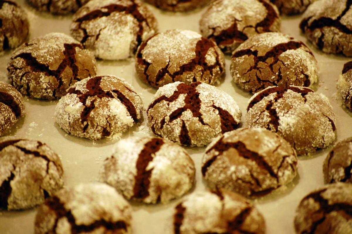 Vegan Chocolate Crinkles (cookies) Recipe