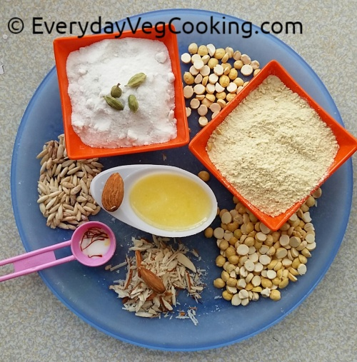 Channa Sattu Ingredients