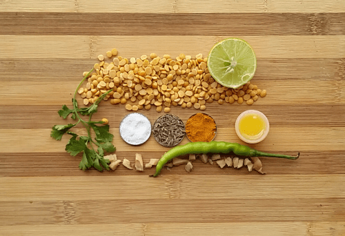 Ingredients for Kaathi Dal
