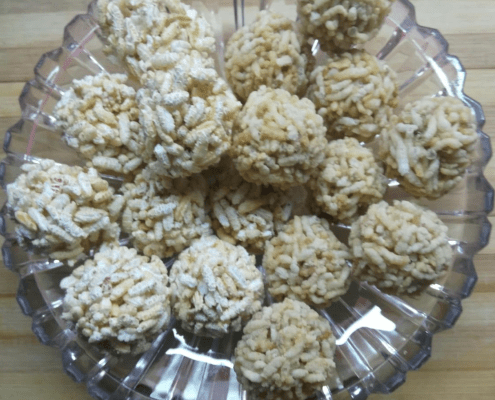 Poha Laddoo- a guilt-free snack