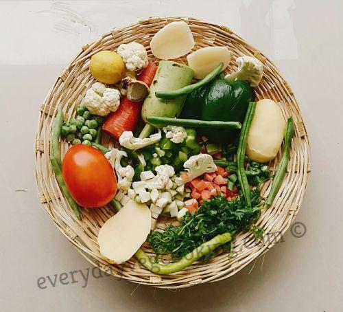 onion-free-pav-bhaji-ingredients