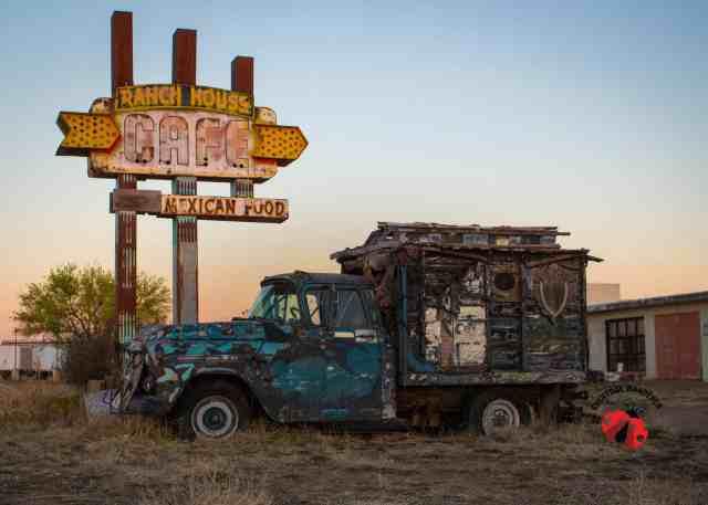 Ranch House in Tucumcari, New Mexico