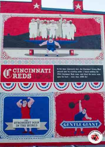 Cincinnati Strongman Mural by Artworks