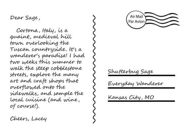 Everyday Postcard from Backroads Brummer