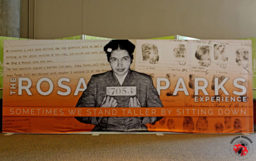 The Rosa Parks Experience at the National Underground Railroad Museum in Cincinnati