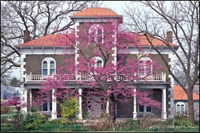 Peel Mansion in Bentonville, Arkansas