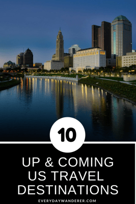 Columbus, Ohio is one of Trip Advisor's ten up and coming US travel destinations #travel #us