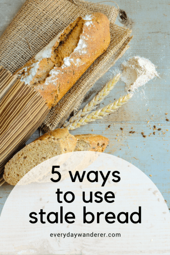 5 ways to use stale old bread that doesn't harm ducks