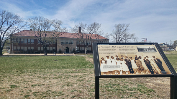 Learn about black history at the Brown v. Board of Education National Historic Site in Topeka, Kansas