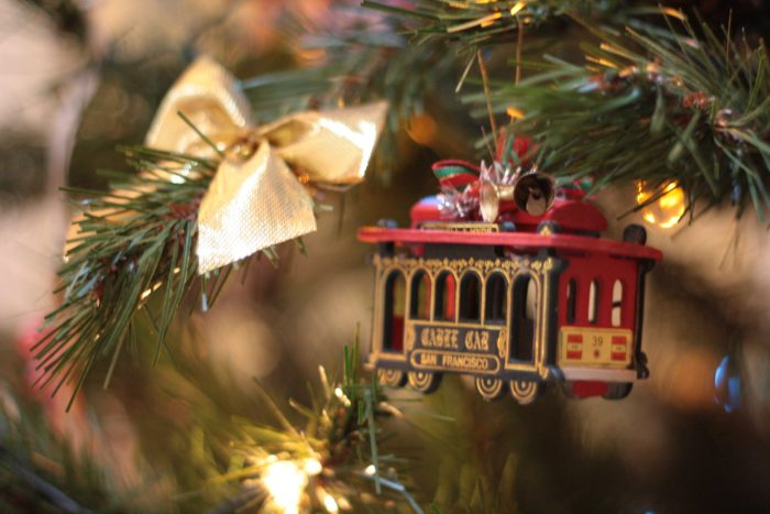 Christmas tree ornaments make affordable souvenirs